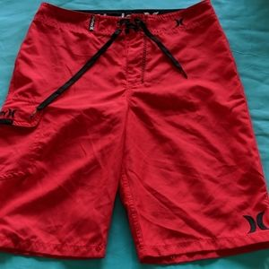 Boys Hurley surf shorts Size 14/27